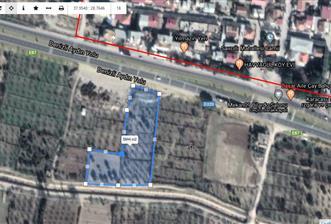 Denizli-Aydın Anayolu Üstünde 5.840 m2 Yatırımlık Fırsat Arazi