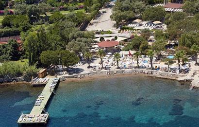 Bodrum Hekimköy Tatil Sitesi'nde Denize Yakın Kiralık Yazlık