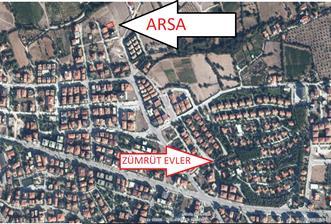 Bağbaşı Zümrüt Mah. Satılık 348 m2 Fırsat Arsa