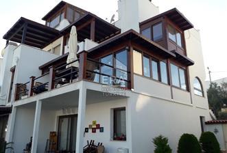 Bodrum Akyarlar Başkent Sitesinde Satılık Tripleks Villa