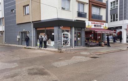 Eskişehir Çamlıca Mah.Tombakzade Cad. Üzeri Satılık Köşe Dükkan