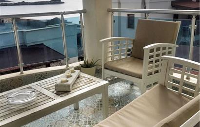 Bodrum Asarlık Denize Sıfır Aura Residence 'da Kiralık Yazlık